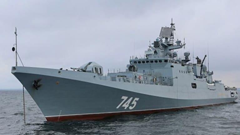 Russia seen sending heavy naval firepower to the Mediterranean