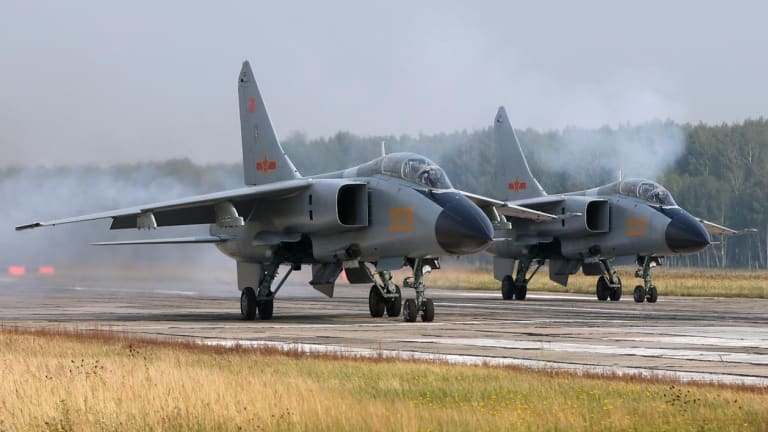 This Chinese Supersonic Fighter-Bomber Is A Blast From the Past