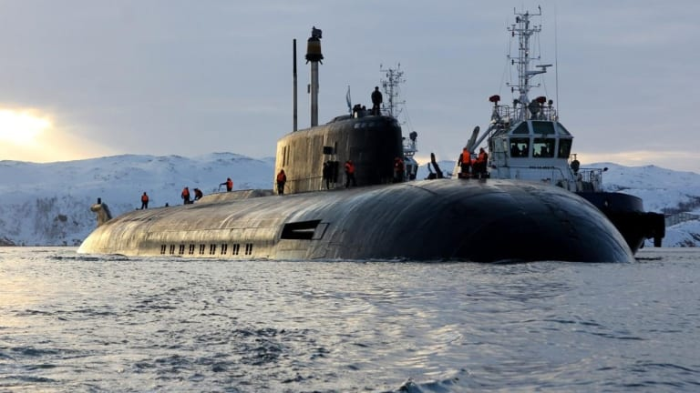 The Lethal Russian Sub That Was Built to Sink U.S. Navy Aircraft Carriers