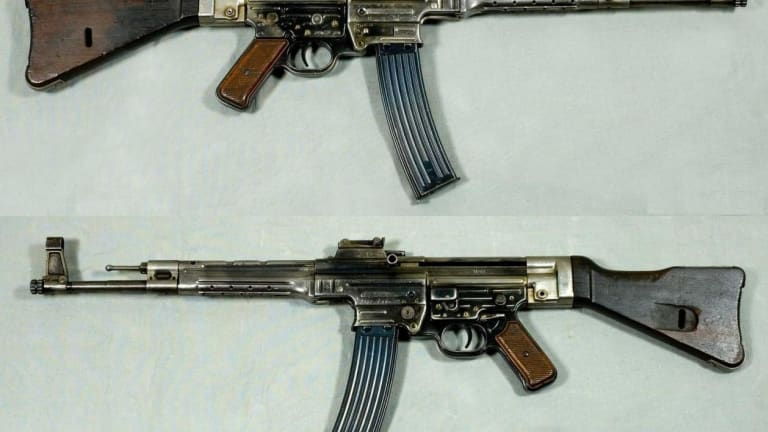 This Nazi Assault Rifle Helped Inspire the M4 Carbine