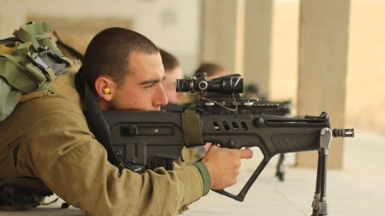 Israel's Deadly Tavor Assault Rifle Fires 800 Rounds Per Minute