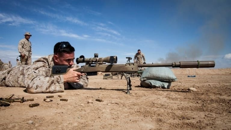 New Army Sniper Rifle: From the Marines - What is it?
