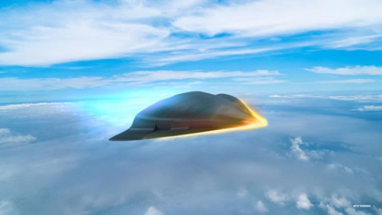 Air Force & DARPA Prepare to Shoot Off New Hypersonic Weapon