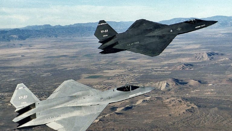 The Story of the F-23 Fighter: The Plane That Would Have Replaced the F-22