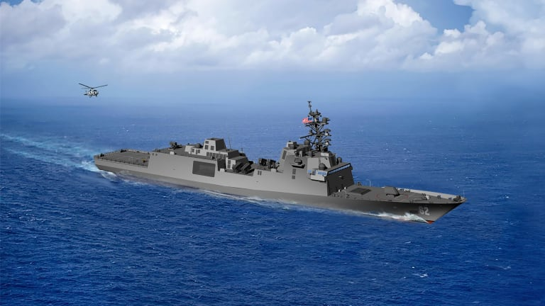 Navy Builds 15 New Constellation-Class Frigates in Next 5 Years