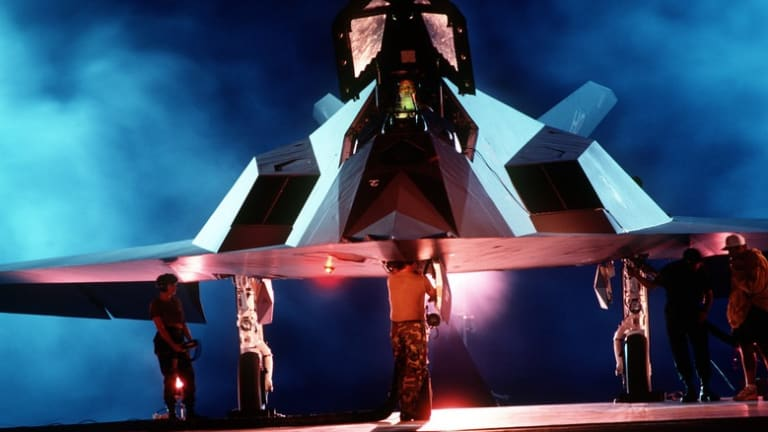 From the Air Force: Remembering the F-117 Nighthawk - the Early Days of Stealth