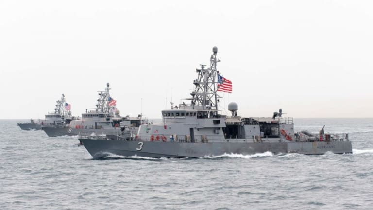 This Ship Would Be on the Frontline of a U.S.-Iran War