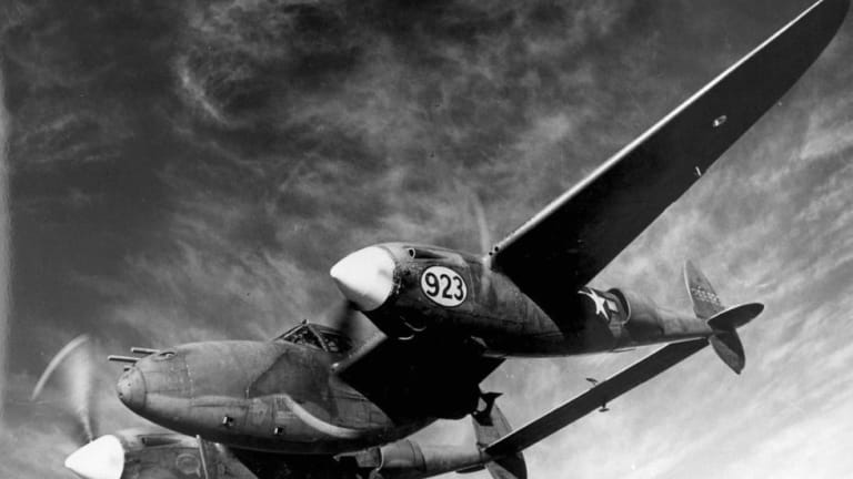 """How the US P-38, called the """"Fork Tail Devil"""" by the Germans - Attacked Japan"""