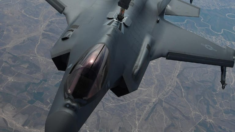 F-35A Fighters Have Dropped Bombs in Combat for the First Time
