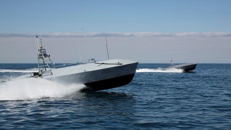 "Navy to Test ""Ghost Fleet"" Attack Drone Boats in War Scenarios"
