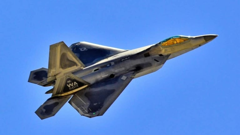 """Air Force """"Validates"""" New Weapons for its F-22 Raptor Stealth Fighter"""