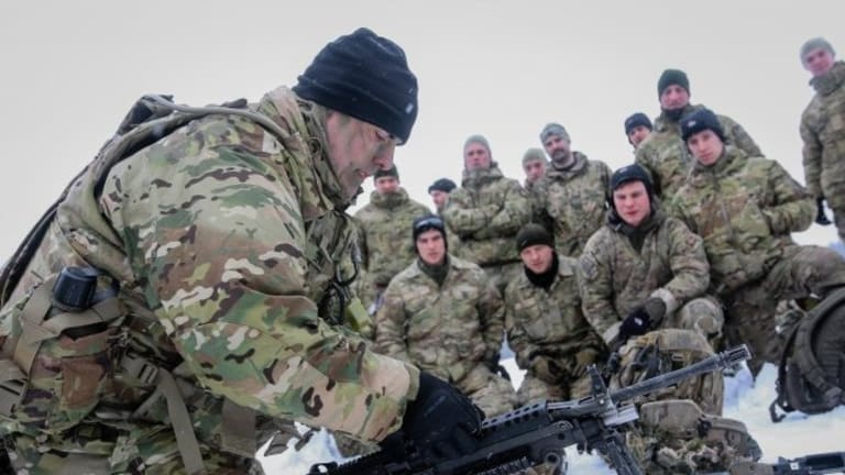 Army, NATO Allies Test Their Mettle During Frigid Training in Estonia