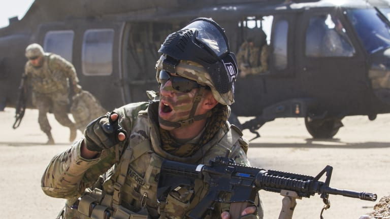 Lasers Transforming Prone Targets Into War Machines, The Future of U.S. Infantry