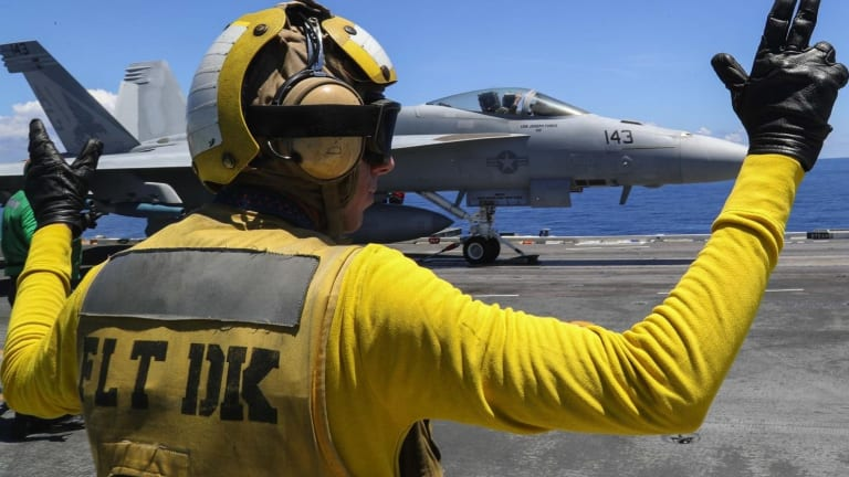 Robot Sailors Are Coming to Navy Aircraft Carriers