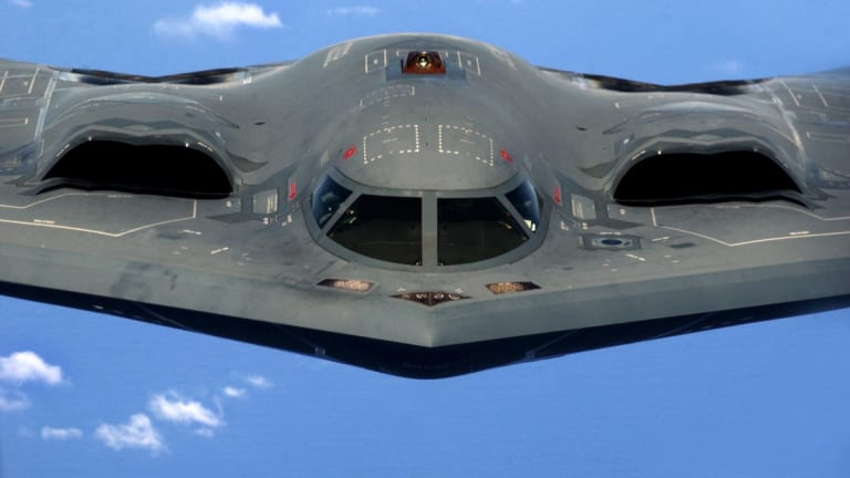 The Navy Had a Plan to Build a Mini 'B-2 Bomber' To Fly from a Carrier