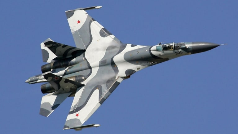 Su-27: The Russian Fighter That Almost Crashed into a U.S. Spy Plane