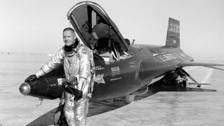 First Man on the Moon Was a Combat Naval Aviator