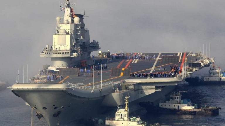 Could China Rival the U.S. Navy in Shipbuilding?