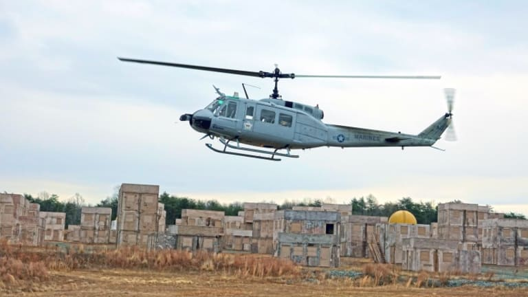 Office of Naval Research Flies Drone Combat Helicopter