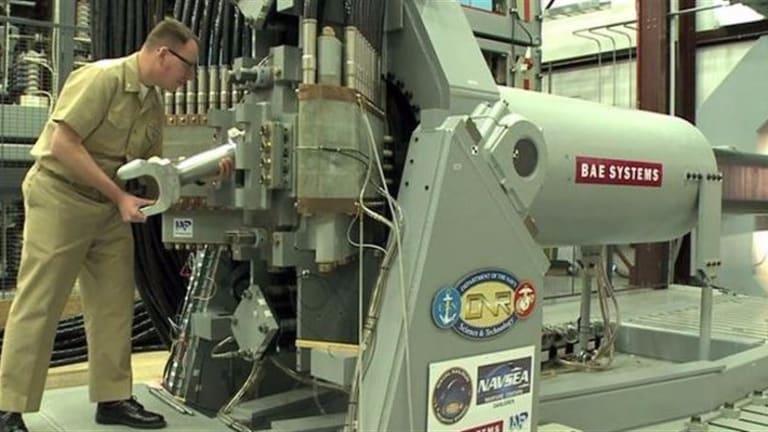Navy Rail Gun to Test Rapid Fire & Move Closer to Combat
