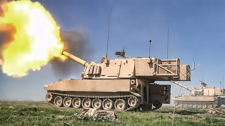 Army General: Emerging 70km-Range Artillery Cannons Bring New Attack Options