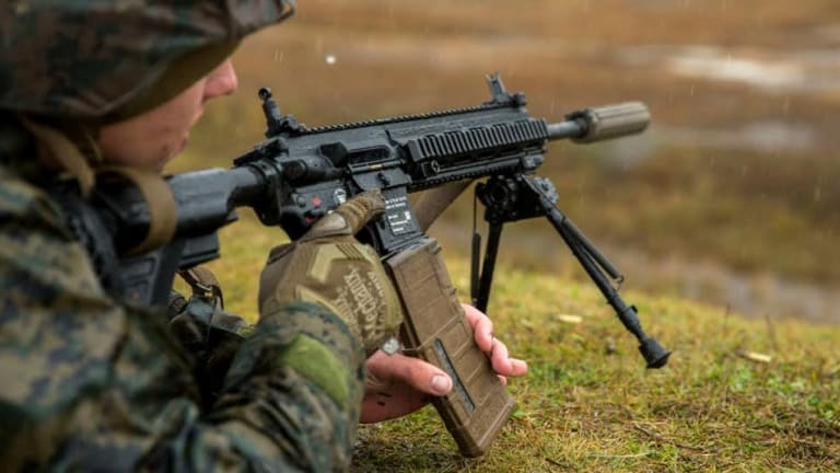 New Marine Rifle Advances Attack Technology