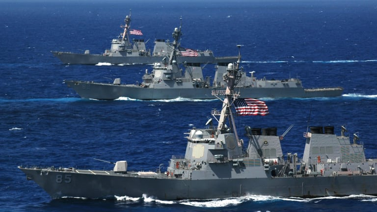 Navy Budget Speeds Up Construction of New Destroyers
