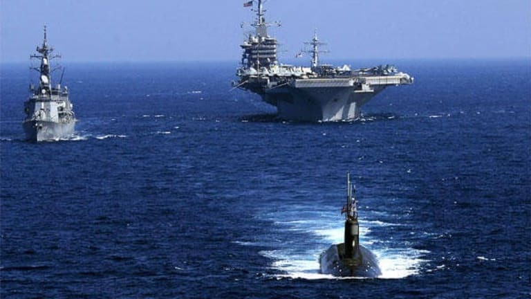 Massive Ocean War: Pentagon War Games Against Chinese Navy