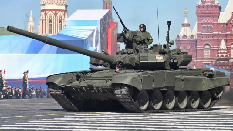 The Russian Army Just Received Its First New T-90M Proryv Tanks
