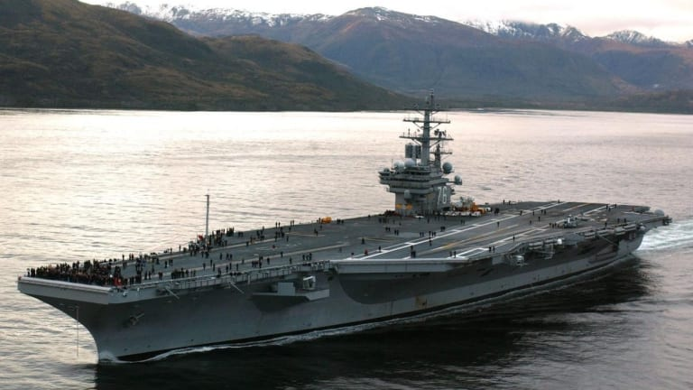 Could the U.S. Military Lose a Carrier in a War with Iran?