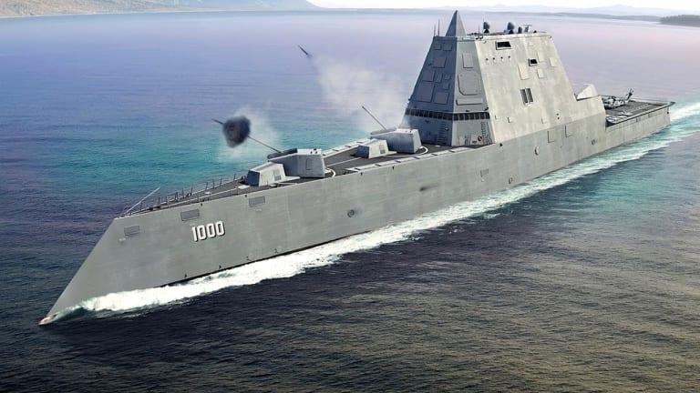 How Stealthy Zumwalt Destroyers Will Change Ocean Warfare