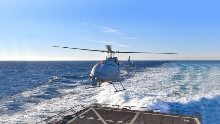 Navy Pursues Massive Drone Fleet, Refines Attack Concepts