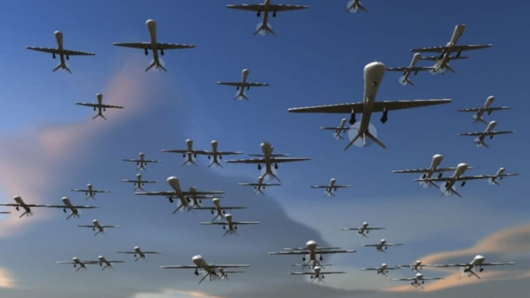 New Pentagon Report Seeks to Counter Drone Swarm Attacks