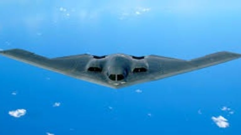 """Air Force  Bombers, Drones and Fighters Test Joint """"Stealth Attack"""" Ops"""