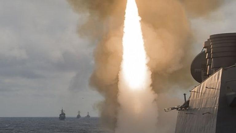Navy SM-2 Missiles Destroy Targets - Atlantic