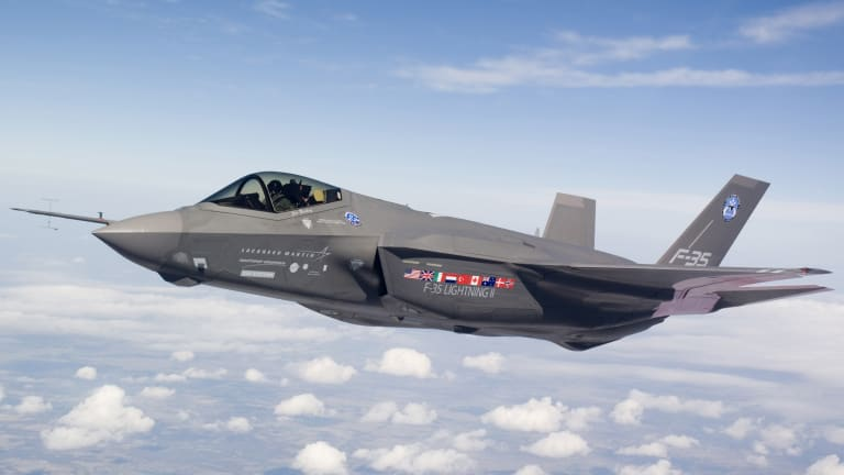 Could an F-35 Get Hacked? Air Force Pursues Cyber Resilience