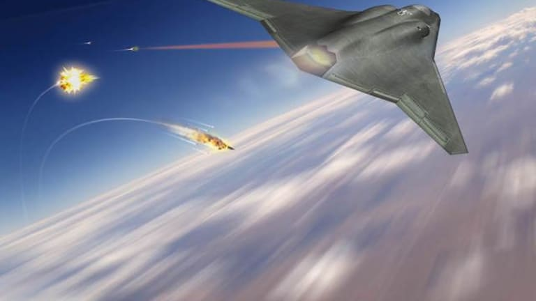 Air Force to Test-Fire Fighter Jet-Configured Laser Weapons Pod from the Ground
