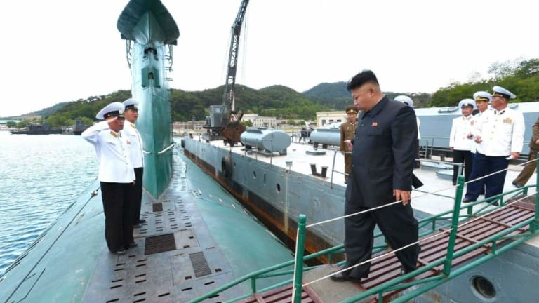 In 1998, These North Korean Subs Met An Enemy They Had No Hope Of Defeating