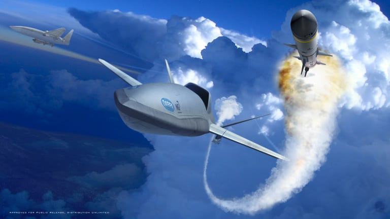 Pentagon Builds New Attack Drone With Long Range Air-To-Air Missile