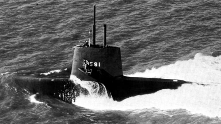 This Navy Spy Sub Was Sent on a Secret Mission and Never Returned
