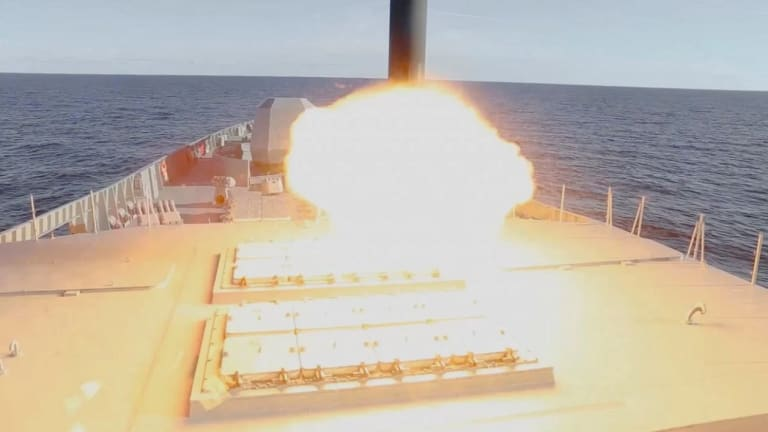 Russia Fires Off New Hypersonic Missile