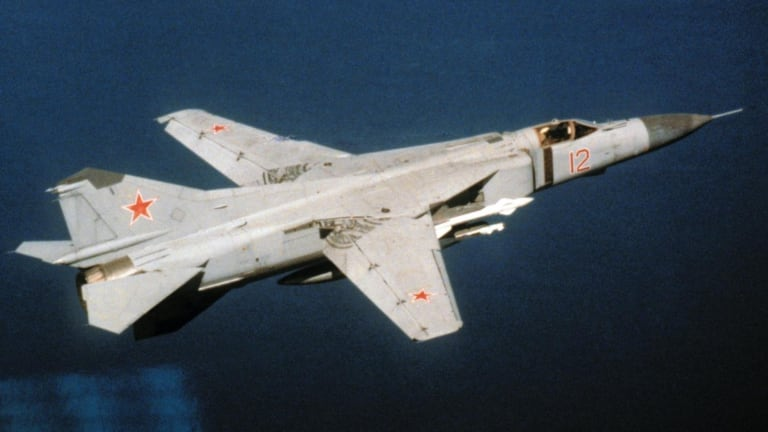 The U.S. Air Force Flew Dozens of Captured Russian Fighter Jets