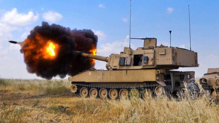 Army Howitzer Fires Rail Gun Hypervelocity Projectile