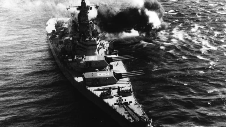 How the Navy Sent 4 of Its Most Deadly Battleships To Attack North Korea