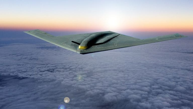 Air Force Builds B-21 Stealth Bomber Mission Operations Technology