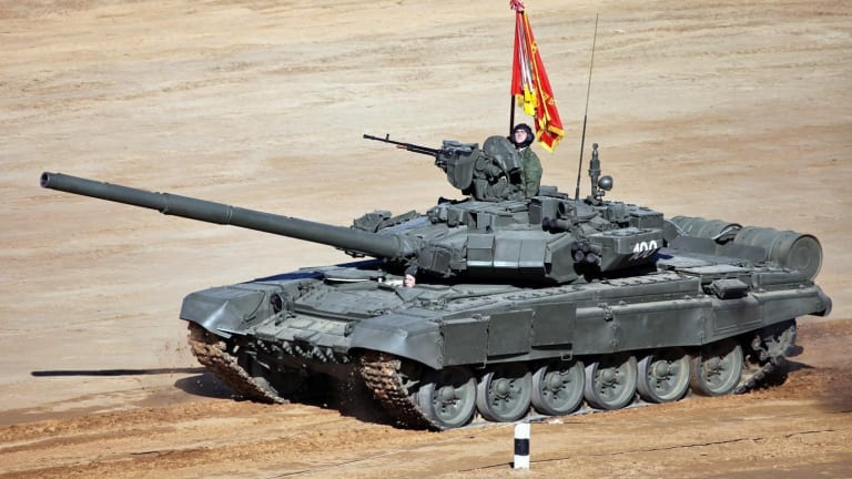 The Russian Army is Getting Its First New T-90M Tanks