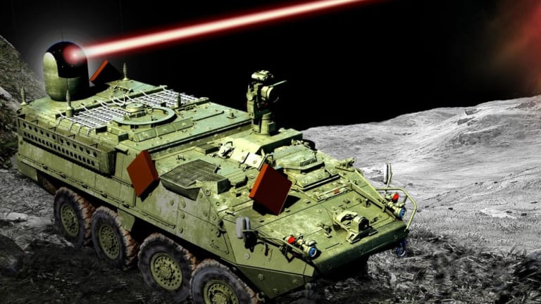 """Army Strykers Will Incinerate Enemy Drones in Laser Weapon """"Shoot-Off"""""""
