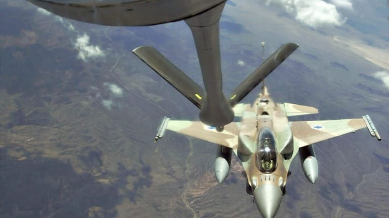 Israeli F-16 Shoots Down Iranian Drone - A US Knockoff