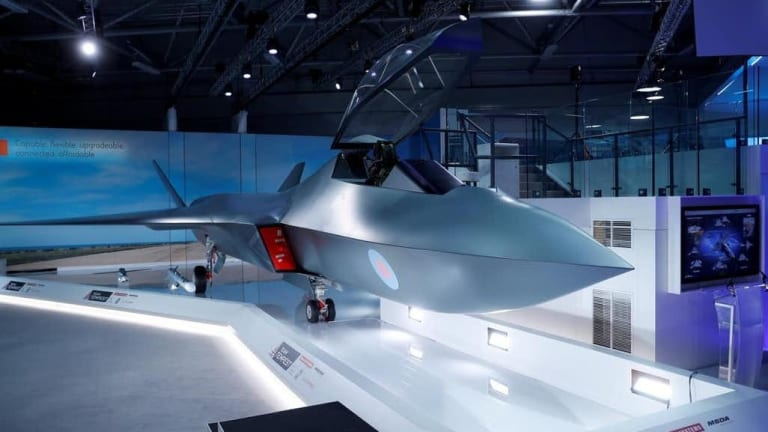 Britain Unveils the Tempest: 6th Generation Twin-Engine Stealth Fighter