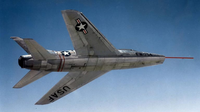 F-100 Super Sabre: The Air Force's First Supersonic Jet